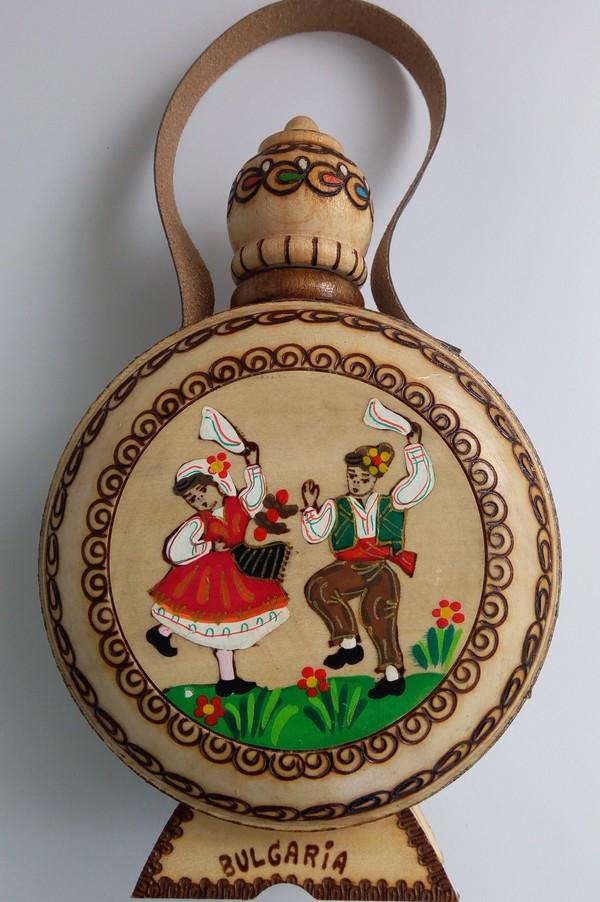 Бъклици с пирография от село Орешак