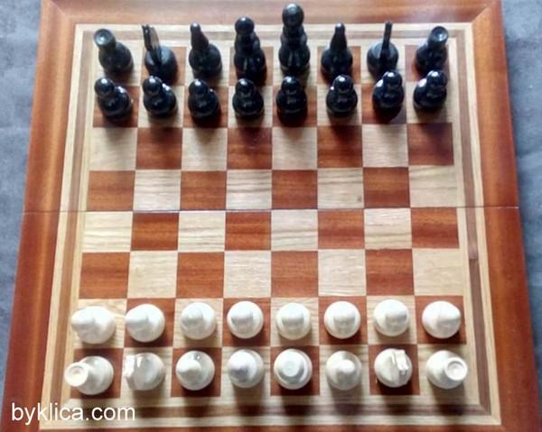 70лв. Комплект шах, табла ПЛОВДИВ голям