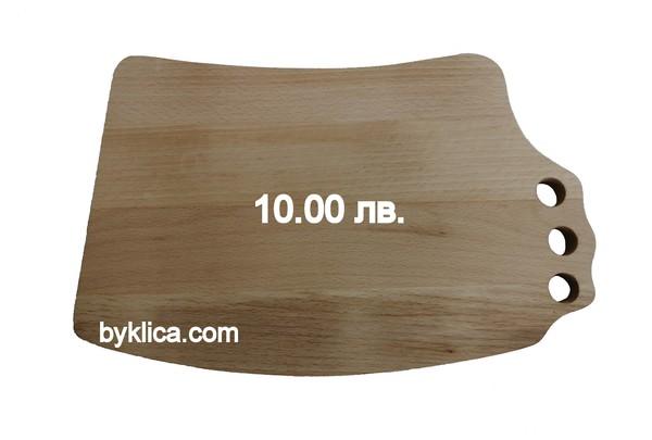 10.00 лв. Дървена дъска за сухо мезе